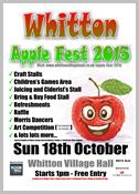 Whitton Apple Fest 2015 A4 poster download thumbnail
